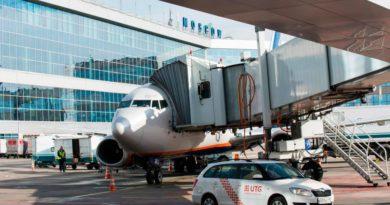 В Москве совершил посадку «заминированный» самолет из Геленджика