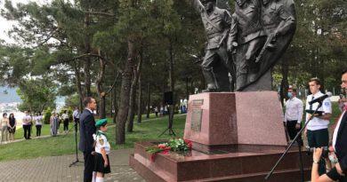 В Геленджике открыли памятник куниковцам