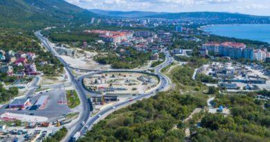 На трассе «Дон» в Геленджике с 5 октября изменится схема движения транспорта
